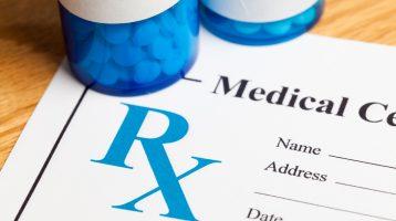 blue pill bottles